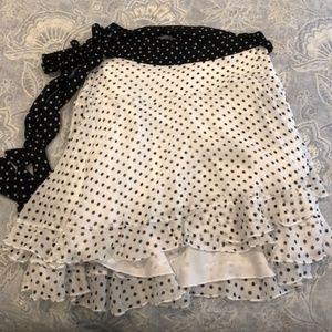 Karina Grimaldi Polka Dot Skirt